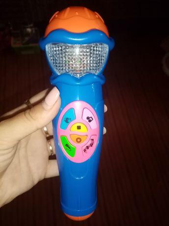 Продам детский музыкальный микрофон