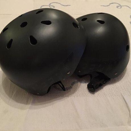 Capacete de skate ou bicicleta tamanho M
