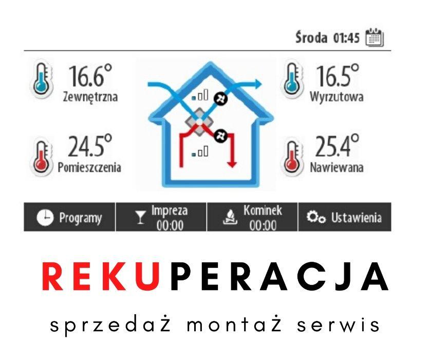 Rekuperacja Wentylacja Mechaniczna Montaż | Kompleksowo w Dobrej Cenie Warszawa - image 1