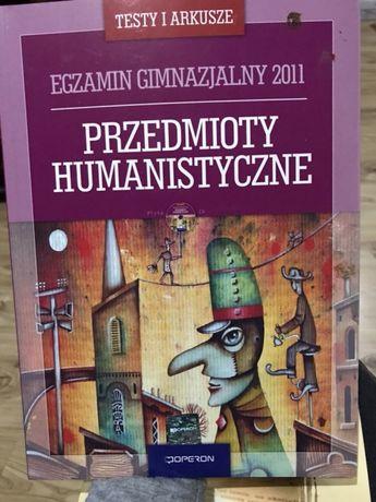 Ksiazka ćwiczenia humanistyczne pisanie pracy gimnazjum