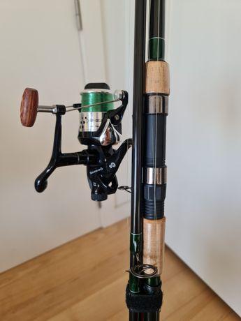 Conjunto de pesca para carpas Carp-Selection 360cm. cana/carreto/mala