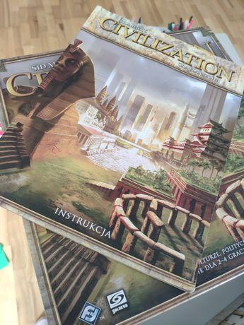Civilization gra planszowa grana 1 raz