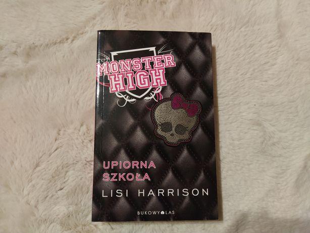 """Młodzieżowa i przyjemna książka Monster High """"Upiorna szkoła"""" tom 1"""