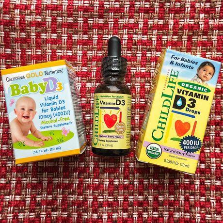 Витамины Д3 для детей