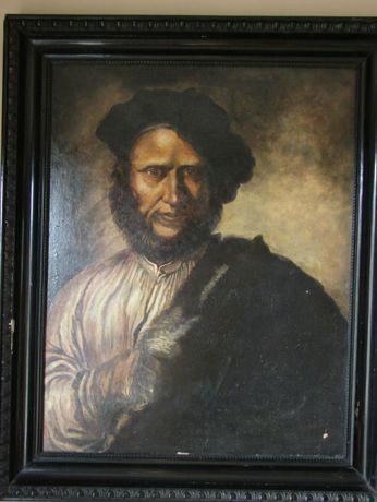 Salvator Rosa - Portret mężczyzny, kopia