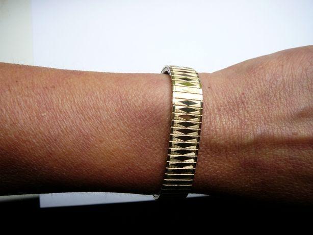 Bransoleta do zegarka 12 mm w złotym kolorze + teleskopy
