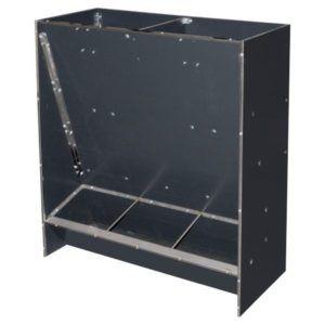 Paśnik na suchą paszę automat paszowy tucznikowy typ 3-stanowiskowy