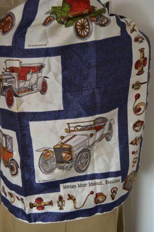 montagu motor museum beaulieu apaszka chustka rolls-royce
