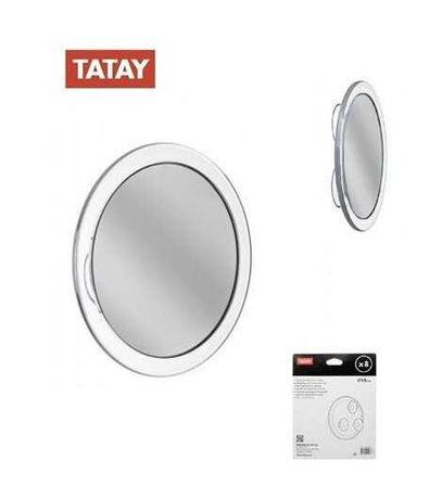 Espelho de aumento com ventosas Nerta 15cm x 8