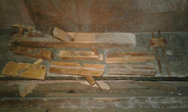 Столярный инструмент набор рубанок фуганок