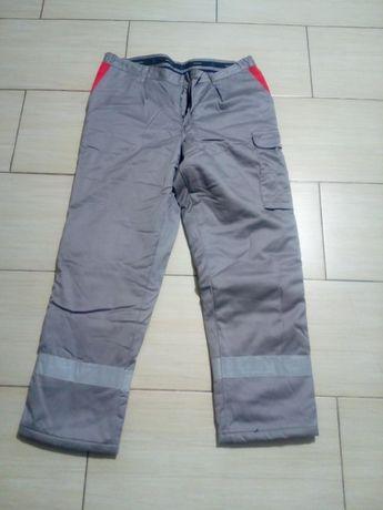 Spodnie BHP ocieplane