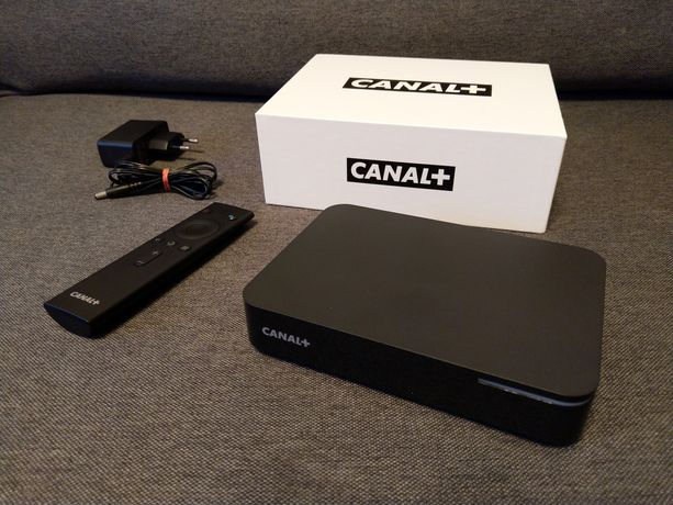 CANAL+ BOX 4K HDR Android TV STB Netflix HBO GO Amazon Prime Video