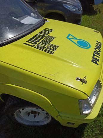 Capot Peugeot 205 Automatic para 205 GTI / CTI / Rallye / Xad Turbo