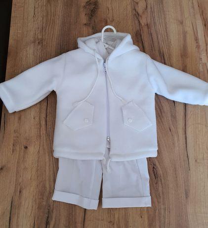 Ubranie do chrztu dla chłopca rozmiar 74