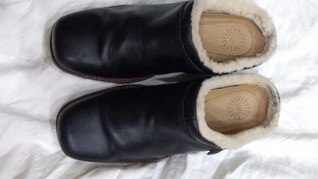 Тапочки кожаные, фирмы UGG,оригинал,дешево