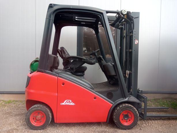 Wózek Widłowy LINDE H16T 391 LPG Triplex 4.6m Wolny Skok