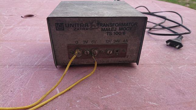 Transformator Małej Mocy Unitra 12V 24V