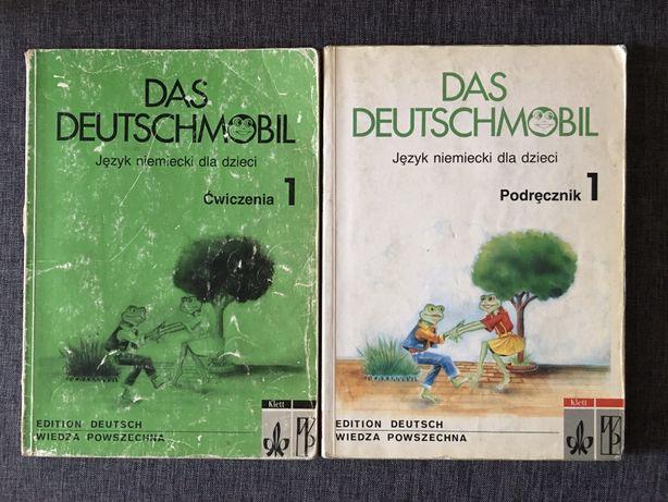 Das Deutschmobil, język niemiecki dla dzieci,ćwiczenia plus podręcznik