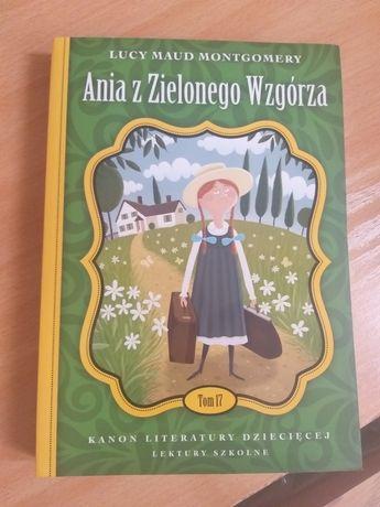 Ania z Zielonego Wzgórza lektura
