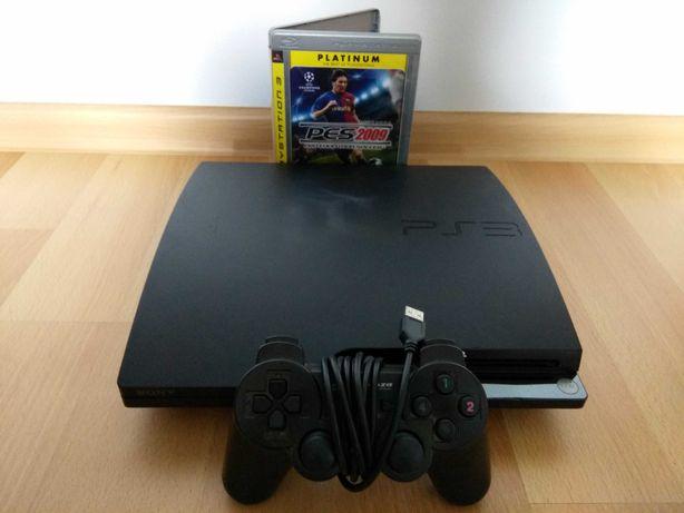 Konsola PS3 SLIM 320GB CECH-2503 + Gra + Pad Playstation 3 SLIM