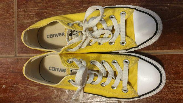 Converse żółte rozmiar 39