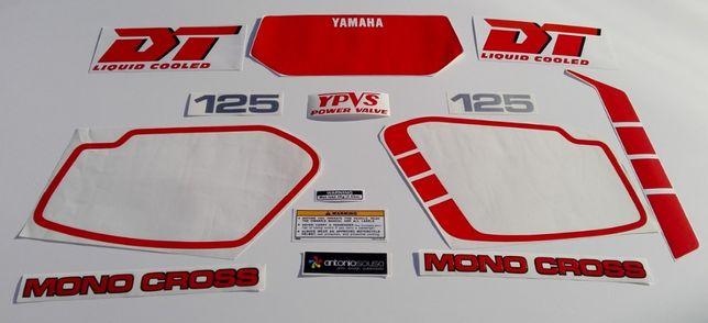 Autocolantes Yamaha DT125 LC YPVS MK4 stickers decalS