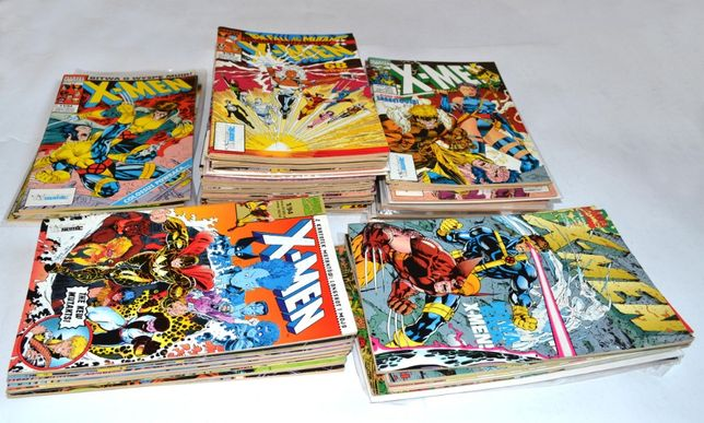 X-men tm-semic egmont mucha na sztuki dużo komiksów wysyłka