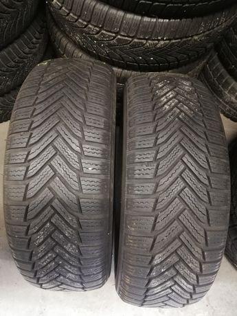 Dwie opony Michelin Alpin6 205/55/16 91T