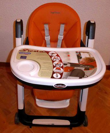 Cadeiras de papa altas