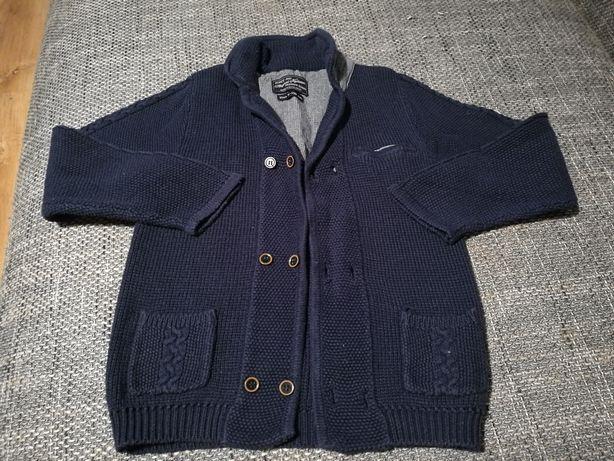 Premium Sweterek Mayoral granatowy dla chłopca