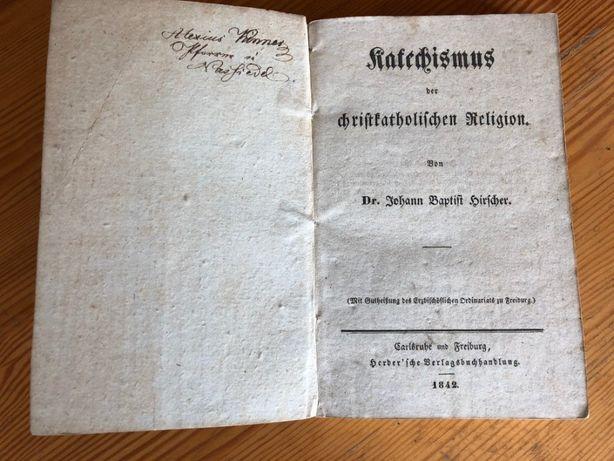 Książka j. niem. 1842