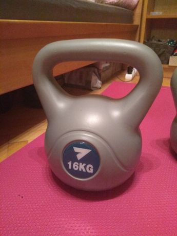 Kettlebell, kettle 16 kg