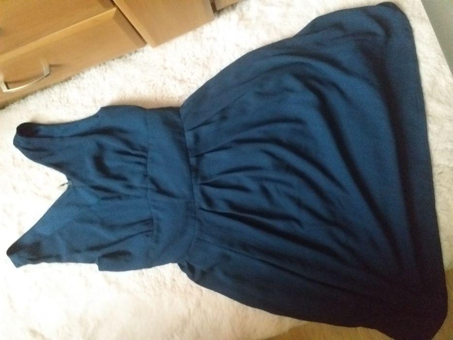 Granatowa sukienka Kutno - image 1