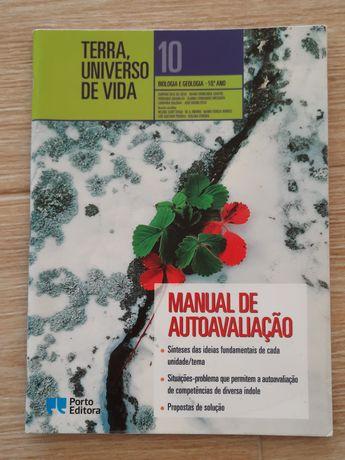 Manual de autoavaliação Terra, Universo de vida 10° ano