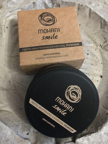 NOWY Mohani proszek Do wybielania zębów z węglem aktywnym 30gr