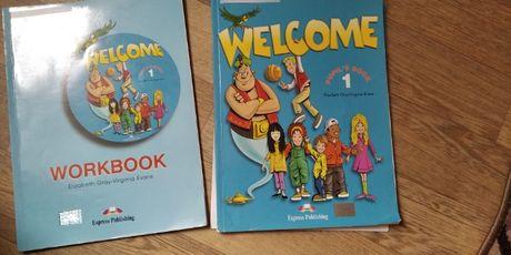 Велком -Учебник + Тетрадь английского языка Welcome 1