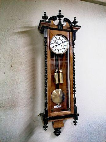 Unikalny H. ENDLER & Co. zegar wiszacy wagowy 1885 r.