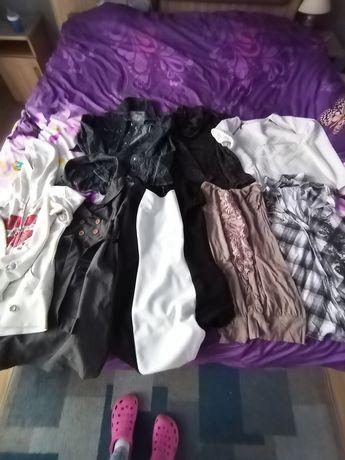 Paka ubrań S/M używane