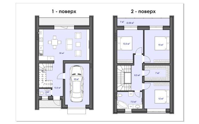 Будинок в місті за ціною квартири. ВS