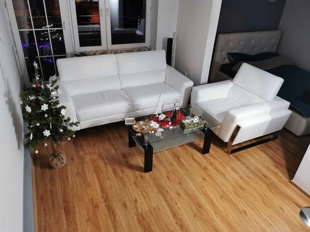 Nowa Sofa Kanapa Wypoczynek Skóra Naturalna Skórzany
