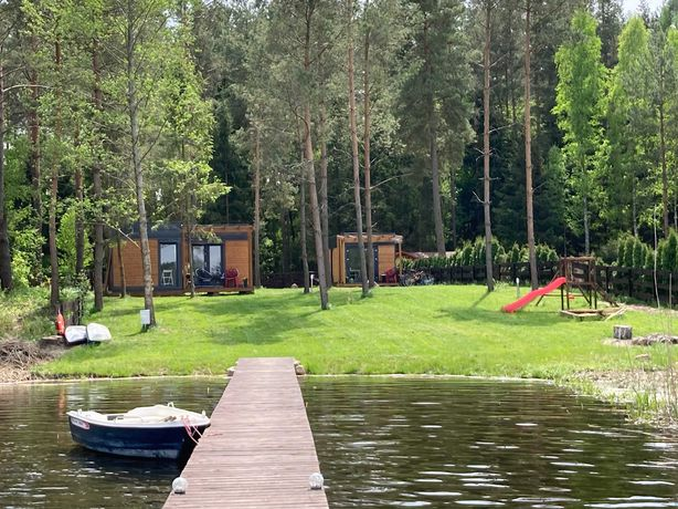 Domek na Mazurach/nad jeziorem -bon , 15m od jeziora,wi-fi,tv sat,