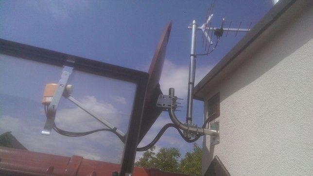 Montaż anten Tarnów Radłów Wojnicz Dąbrowa Tarnowska Żabno Pilzno LTE