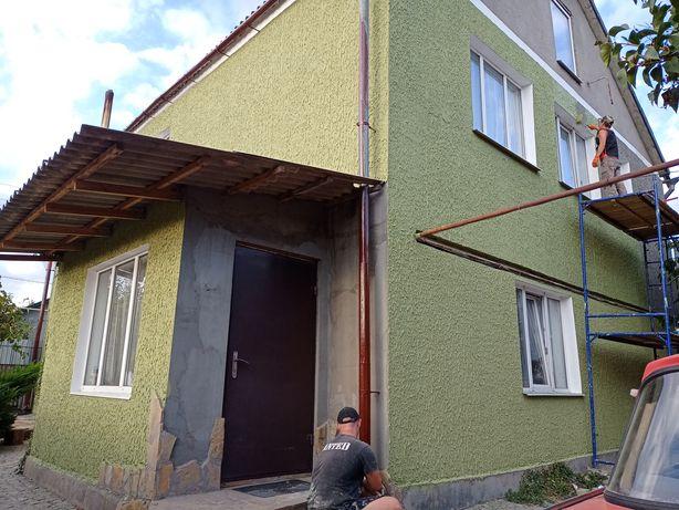 Утепление стен домов квартир фасадов, ремонт герметизация швов, ремонт