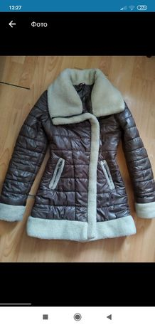 Зимове пальтечко на худеньку дівчину