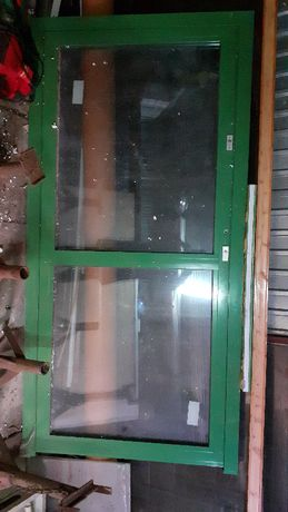Drzwi aluminiowe zewnętrzne/klatkowe/oszklone