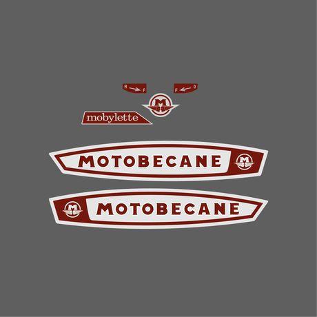 Autocolantes Mobylette Motobecane