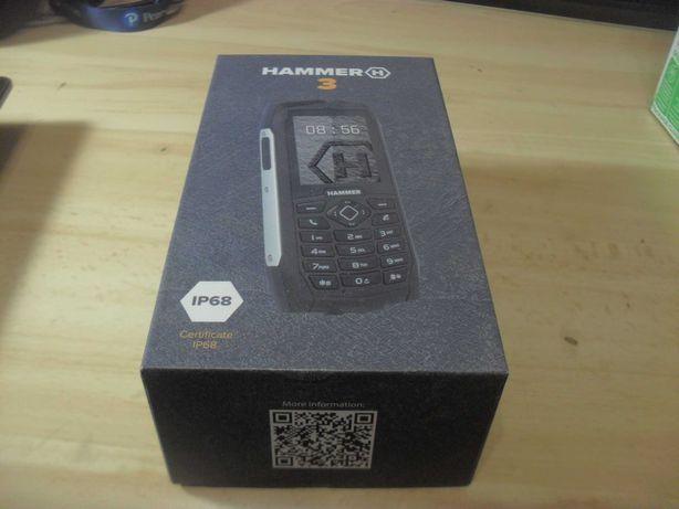 Telefon Hammer 3 z rozlanym wyświetlaczem