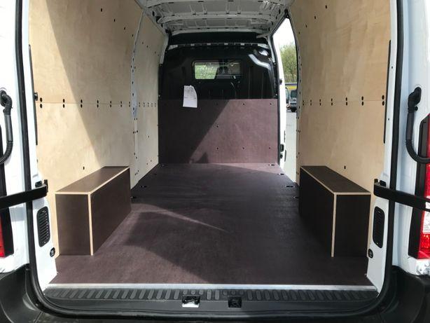 Zabudowa paki busa nadkoli podłogi Master Movano L3H2 - CNC