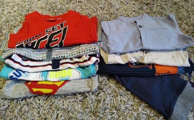 Paczka zestaw ubrań r.12-18 months