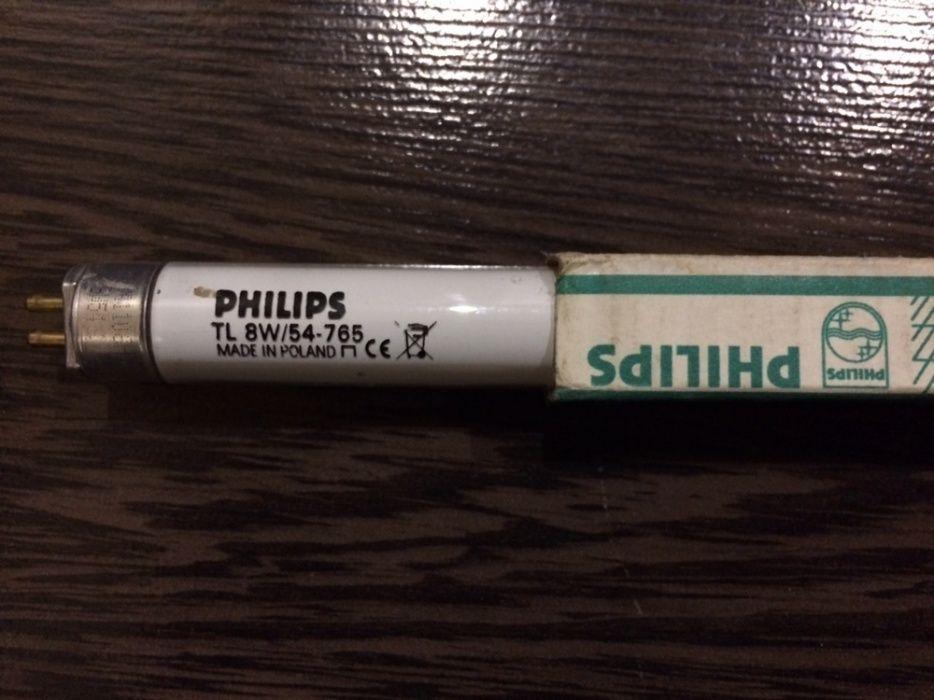 Люминесцентная лампа (энергосберегающая Philips TL Mini 8W/54-765